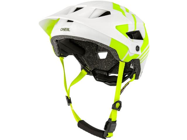 O'Neal Defender 2.0 Kask rowerowy, nova white/neon yellow